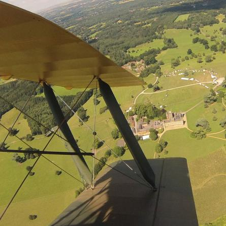 Tiger Moth Downton Tour