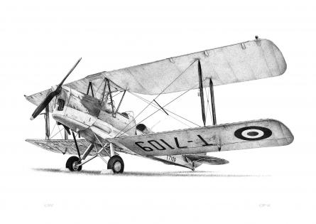 Tiger Moth G-AOIM Limited Edition Print