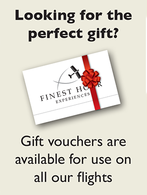 Gift Vouchers are available for use on all our flights
